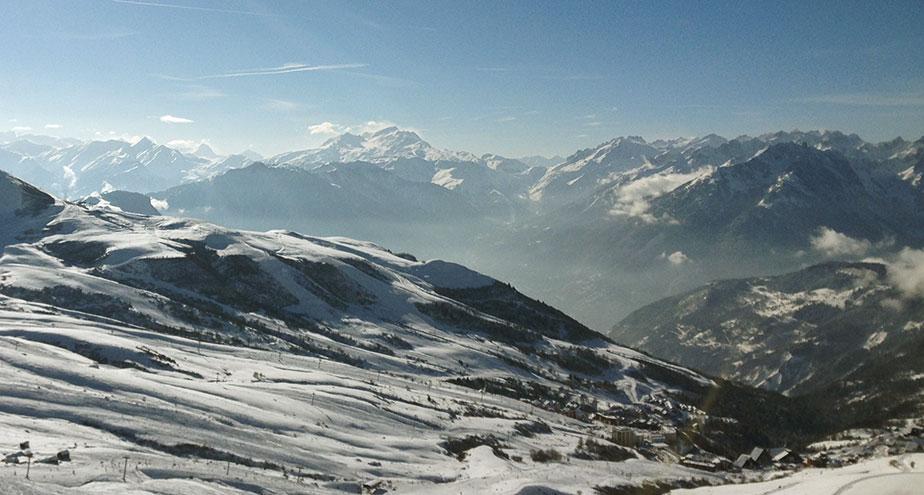 Et là, c'est le Mont-Blanc